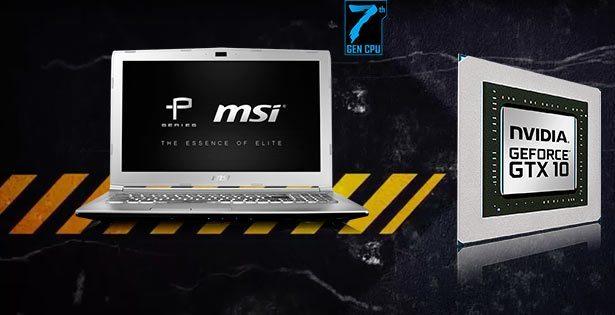 MSI PL60 Portátiles Gaming | Intel Core i7 7500U, RAM 8GB, Geforce 2GB, DD 1TB, Pantalla 15.6 Pulgadas