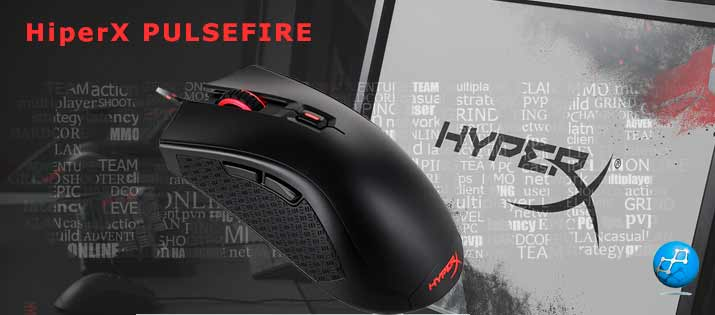 Kingston PC Mouse FPS Gaming PulseFire