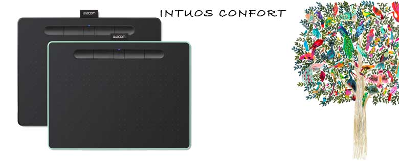 Tablet Wacom Intuos Black small comfort
