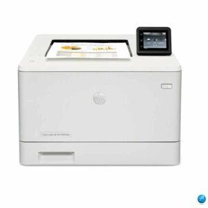 Impresora color hp laserjet pro m452dw (cf394a) | 40 PPM en Negro 28 PPM Color Ethernet, Bandeja para hojas.