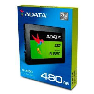 disco duro ssd 480gb adata interno asu650ss-480gt-c