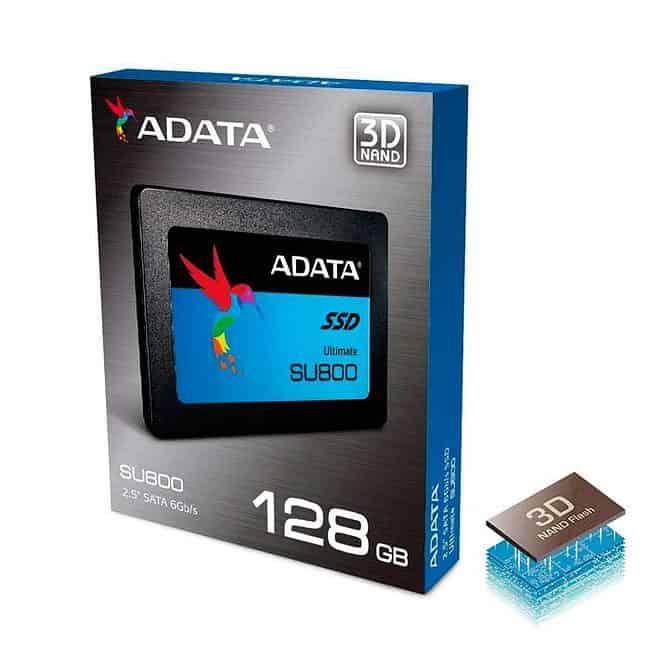 disco solido ssd adata 128GB SU800 asu800ss-128st c