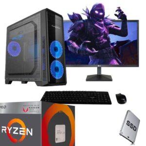 computador-amd ryzen 5 2400g gaming ssd 256GB