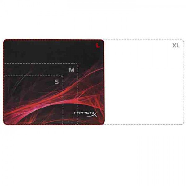 mouse pad gamer kingston hyperex fury hx mpfs