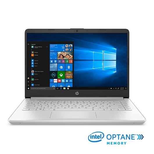 "HP 14-DQ1005LA Intel Core i7 1065G7 /8GB RAM + 16 GB Optane/256GB SSD/14"""