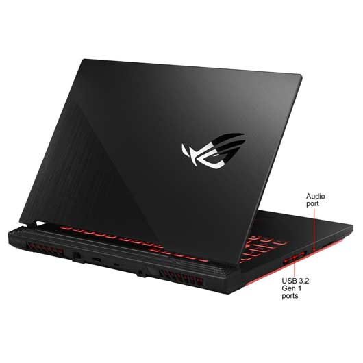 ASUS ROG Strix G512LW-WS74 Intel Core i7 10750H/GeForce RTX 2070/memoria 16 GB/512 GB PCIe SSD/Windows 10/Gaming /15 6